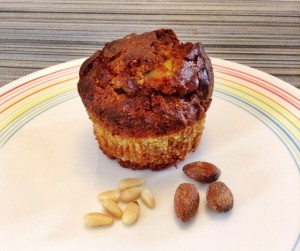 muffins met geitenkaas