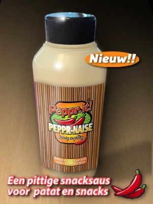 hete saus van Peppr-it