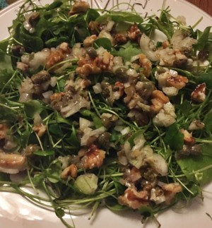 challenge dag 1 salade winterpostelein