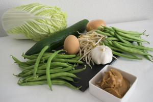Ingrediënten voor gado gado