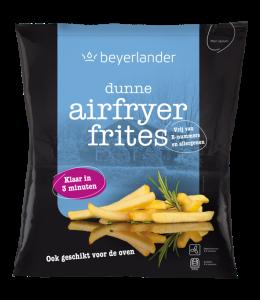 De verpakking van Beyerlander frites