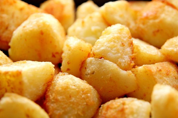 Lekkere krokante aardappels uit de airfryer