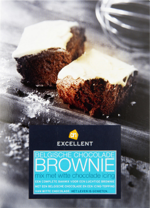 Brownies van Albert Heijn