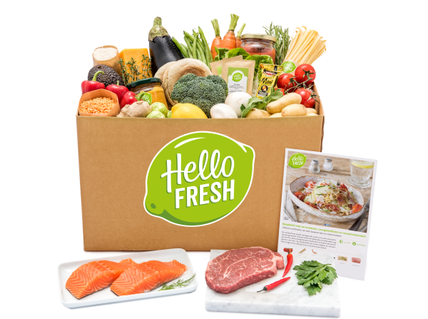 De Hello Fresh Box