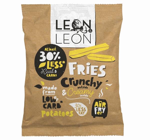 Review: Koolhydraatarme friet van Leon & Leon uit de Airfryer