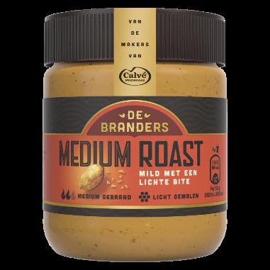 Medium roast pindakaas van De Branders van Calvé