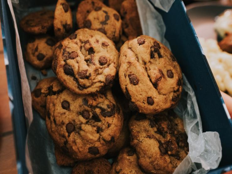 Chocoladekoekjes uit de Airfryer
