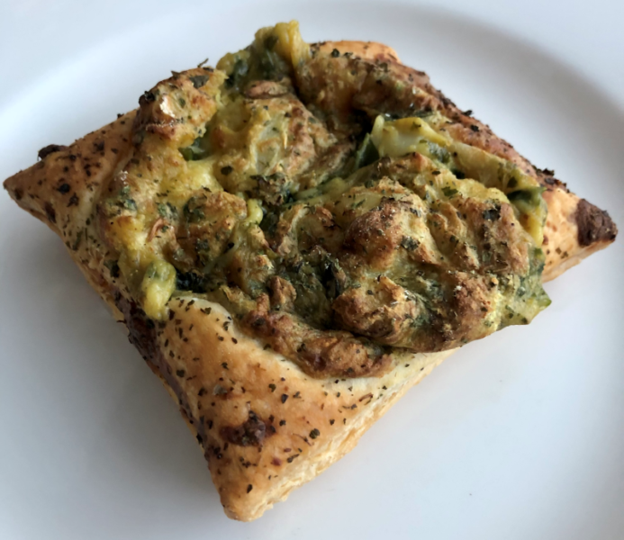 Taartjes met bloemkool en curry